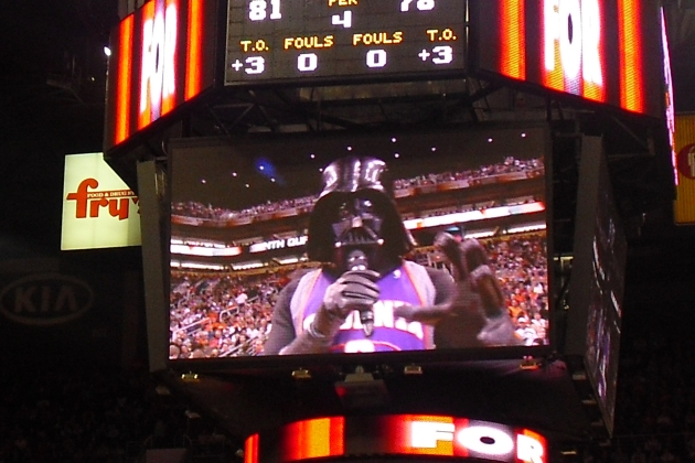 Star Wars night in Pheonix!