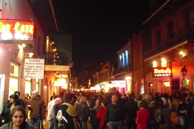 Hello Bourbon Street