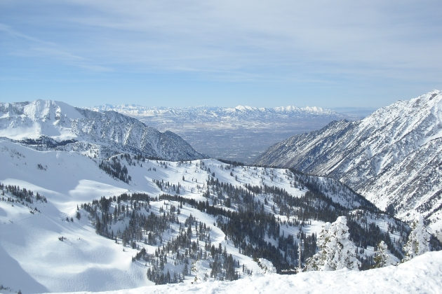 The Mormons knew they were in for good skiing when they settled into Utah.