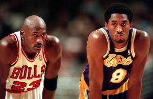 Kobe, you can catch me in points, but you're not winning a sixth ring in LA. You can't hit a curve ball either.