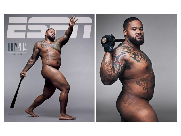 Baseball and male nudity. A nightmare to many.  (PHOTO: ESPN The Magazine/Body Issue)